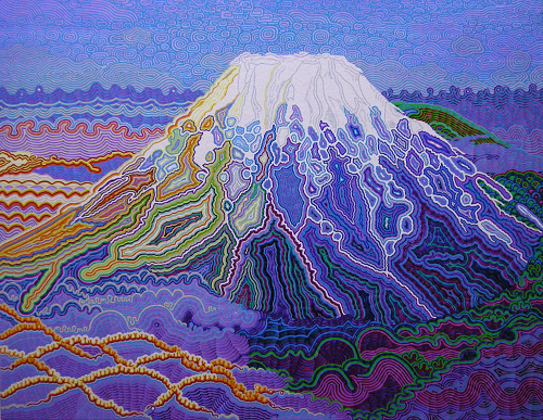 View larger image.Oil Painting 13 canvas painting Mt.Fuji Landscape Nature mountain by Japanese Artist Fumihiro Kato